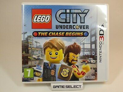 Lego City Undercover The Chase Begins Nintendo 3Ds 2Ds 3D Pal Originale Completo