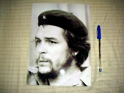 ARGENTINE CHE GUEVARA   PHOTO BIG SIZE Collector FIRST DAYS OF REV N/R