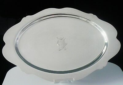 American Silver Tray, Lawrence B. Smith Co c.1897-c.1957