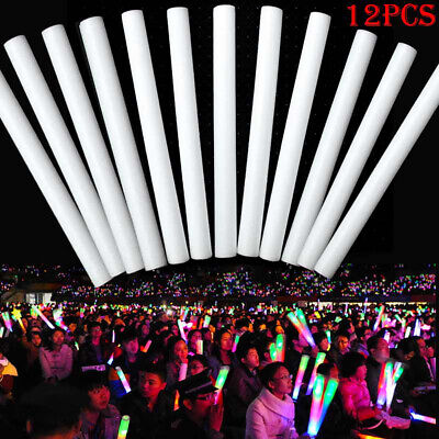 Festival Party Decoration Concert Prop Light Up LED Multi Color Foam Sticks