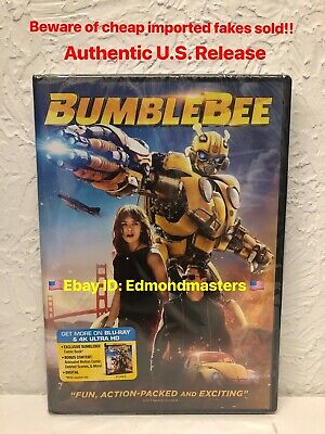 Bumblebee 2019 DVD, John Cena Authentic U.S. Release, Beware of Cheap Fakes Sold