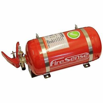 SPA Design Mechanical 3.375L Single Seater Racing Fire Extinguisher FIA Approved