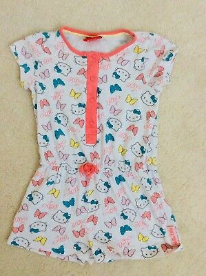 Girls Hello Kitty Short All-in-One Nightwear Age 2-3 Years from Mothercare