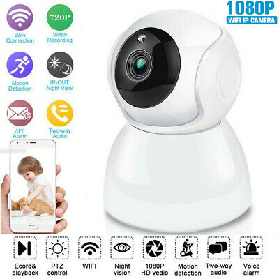 Wireless Outdoor WiFi IP Camera 1080P HD IR Security Webcam Baby Audio CCTV CAM