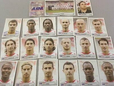 panini foot equipe NANCY  2007 complete