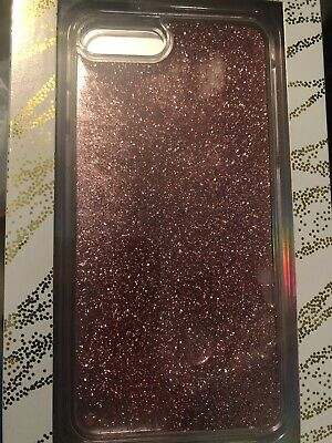 check out 9f1fe 08e9d LMNT HARDSHELL CLEAR Liquid Glitter Case for iPhone 8/7 Plus Silver ...