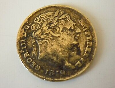 1819 George III silver sixpence - counterfeit?