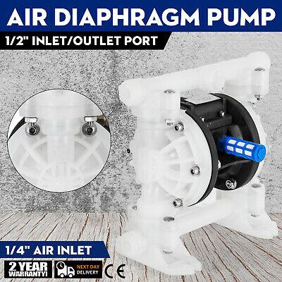 """1/2"""" Air Driven Double Diaphragm Pump TOP SELLER Easy to assemble Good Quality"""