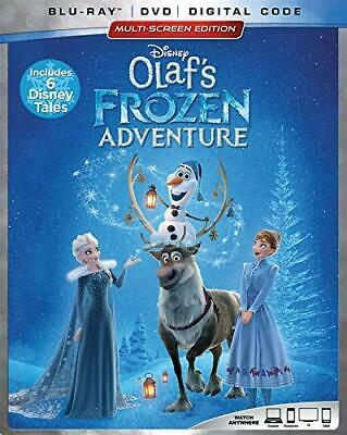 New No Seal Olaf's Frozen Adventure Blu Ray Dvd Digital Hd Free 1St Cls S&H