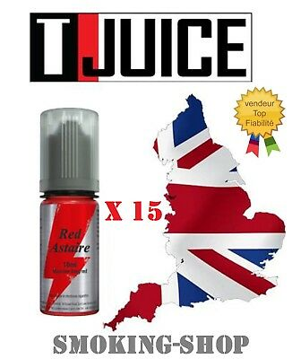 Red Astaire - T JUICE  lot 15 x 10 ml - 6 mg