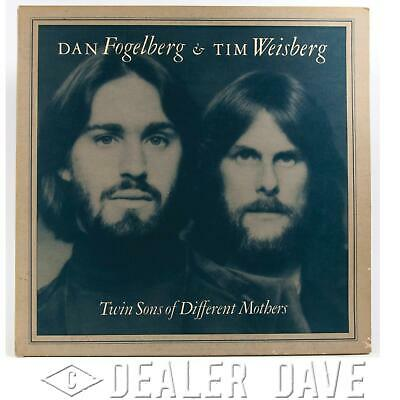 Dealer Dave Vinyl Record Album:FOGELBERG/WEISBERG TWIN SONS OF DIFFERENT MOTHERS