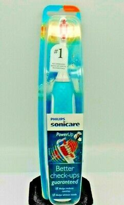 Philips Sonicare HX3631/06 Powerup Battery Toothbrush. NEW FACTORY SEALED