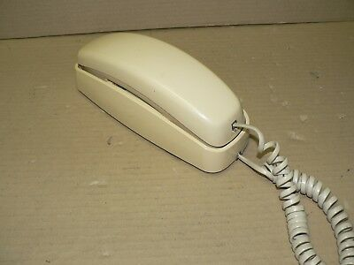 Vintage AT&T Trimline 210 Phone Telephone Push Button Desk or Wall Hanging Ivory