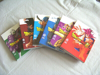 Dragon Ball Super Part 1 2 3 4 5 6 DVD Bundle Set 1-6 FREE SHIPPING