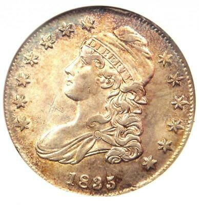 1835 Capped Bust Half Dollar 50C O-101 - ANACS AU Detail - Rare Certified Coin!