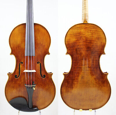 A Strad Copy Viola 15 inch Antique Varnish!Warm Deep tone! M5963