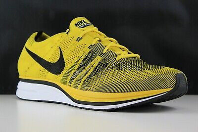 cd6e383a5c80 NIKE FLYKNIT TRAINER Bright Citron Yellow Black White AH8396-700 ...