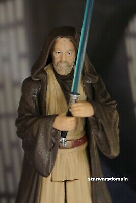 Star Wars 2017 The Last Jedi Collectible OBI-WAN KENOBI Action Figure