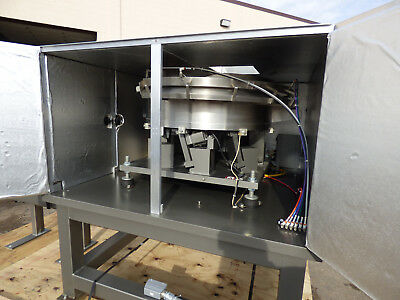 "36"" Vibratory Bowl Feeder, With Control, Sound Enclosure Stainless Steel"