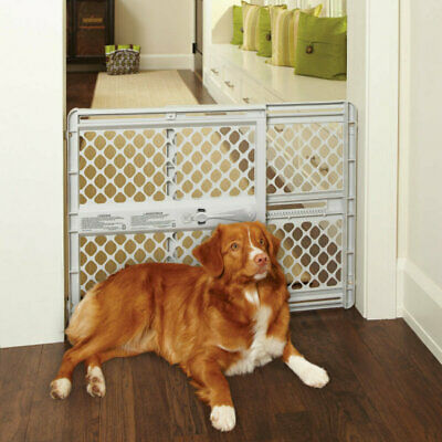 """North States SUPERGATE III Classic Baby and Child Safety & Pet Gate, 26"""" Tall"""