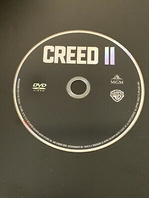 Creed II (2018) BRAND NEW! DVD DISC and DIGITAL COPY ONLY (NO CASE/SLIP/BLU-RAY)
