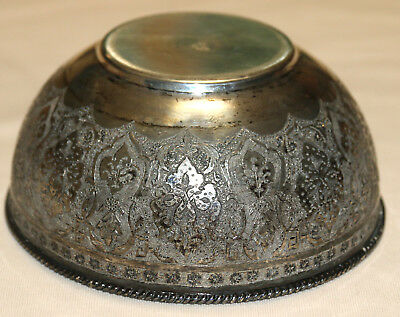 Extremely Rare Vartan 1920s Persian Armenian Sterling Silver Bowl