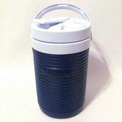 2b720e7246 Vintage Rubbermaid 1/2 Gallon Insulated Water Jug Cooler Spout Handle USA  Made