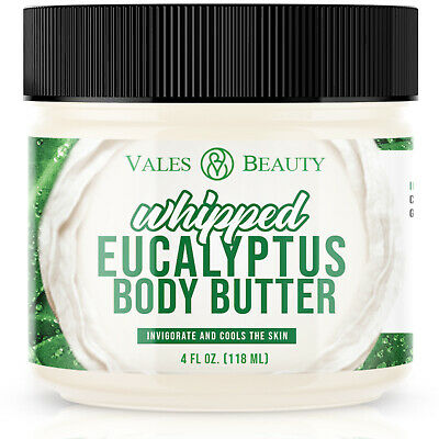 Eucalyptus Essential Oil Body Butter With Organic Shea Butter & Cocoa Butter
