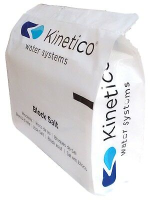 3 packs 6 blocks of Kinetico Salt - water softener salt
