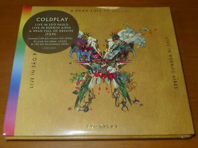 Coldplay –Live In Buenos Aires/Live In São Paulo / A Head Full Of Dreams CD DVD