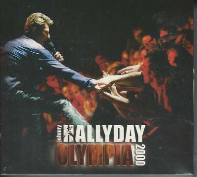 Cd JOHNNY HALLYDAY  Olympia 2000 (Neuf sous blister digipack)