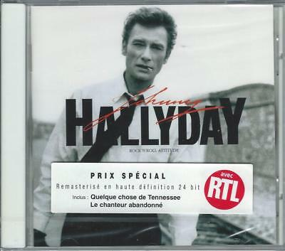 CD JOHNNY HALLYDAY - Rock'n roll attitude (neuf sous blister) **