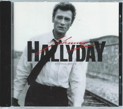 CD JOHNNY HALLYDAY - Rock'n roll attitude (occasion comme neuf) *