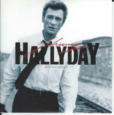 CD JOHNNY HALLYDAY - Rock'n roll attitude (comme neuf digipack) *