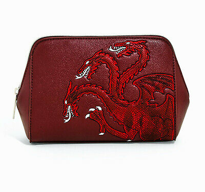 House Targaryen Game of Thrones Danielle Nicole Cosmetic Bag Box Lunch Exclusive