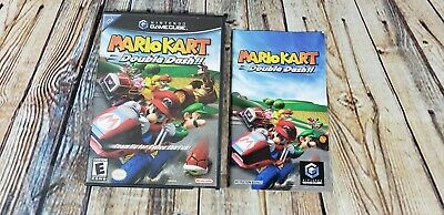 Mario Kart Double Dash Nintendo GameCube Video Game Case Only & Manual