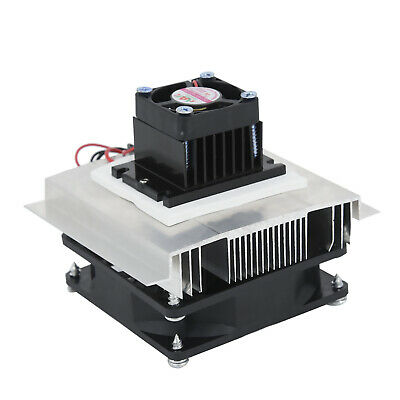 12V 6A Thermoelectric Peltier Refrigeration Cooling System Cooler Fan Part 60W v