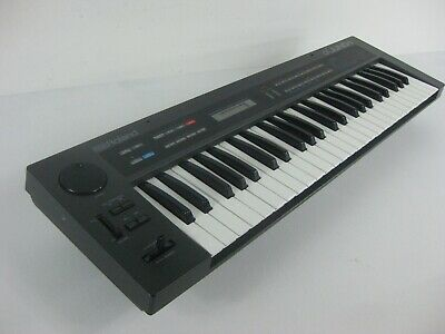 VINTAGE ROLAND ALPHA Juno-1 Synthesizer 64 Presets/64 User Patches