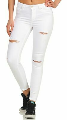 JDY Damen Jeggings Skinny Jeans Hose  Regular Waist JDYELLA L30 L32 Only XS-XL