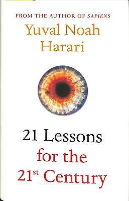 21 Lessons for the 21st Century by Yuval Noah Harari Hardcover Book Free Shippin