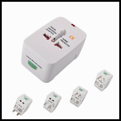 Universal All In One Power Adapter Wall Charger Socket Travel Plug Converter New