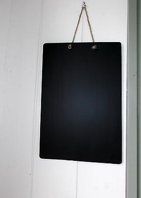 Double Sided mr MDF portrait A4 chalkboard wall memo sign menu shop notice sign