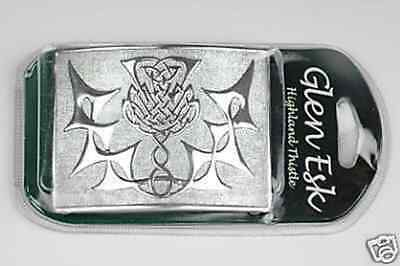 Highland Thistle Belt Buckle 4 Sporrans Buckles & Kilts ON SALE