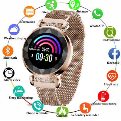 Fitness Smart Watch Activity Tracker Women Ladys Fitbit Android iOS Heart Rate