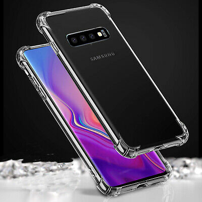 For Samsung Galaxy S10 Case Shockproof Silicone Ultra Soft Gel Cover Clear Case