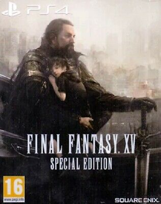 PS4 Spiel Final Fantasy XV 15 (Special Steelbook Edition) + Bonus-DLC NEU