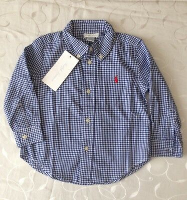 Ralph Lauren Baby Boy's  Long Sleeve Shirt (24 Months)