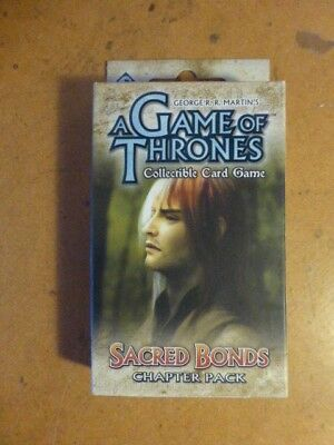 A Game of Thrones LCG Chapter Pack Sacred Bonds COMPLETE & sleeved