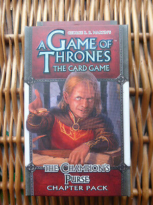 A Game of Thrones Expansion The Champion's Purse LCG still SEALED