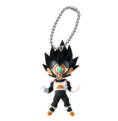 Dragon Ball Super UDM Burst 27 SS Vegeta Black Mask Figure Keychain BANDAI Japan